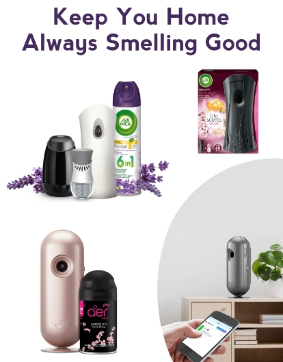 Best Air fresheners for home and room automatic or electric